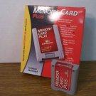 Performance Memory Card Plus For Nintendo 64 4x More Memory *USED*