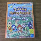 NDS Pokemon Mystery Dungeon Explorers of Time Explorers of Darkness Strategy Guide *NEW*