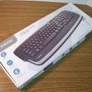 Engage USB Wired Multimedia Keyboard (OM04715) *NIB*