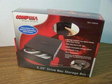 "CompUSA 5.25"" Drive Bay Storage Box (CDB-5035) *NIB*"