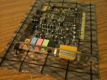 Creative Labs Sound Blaster Live 5.1 PCI Audio Adapter (SB0060) *USED*