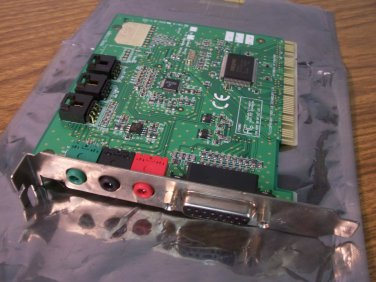 Creative Labs Sound Blaster 4.1 PCI Adapter (CT5803) *USED*