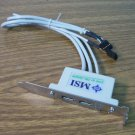 MSI 2-Port USB 2.0 Backplate Adapter *USED*