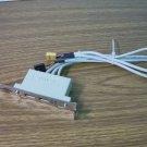 MSI 2-Port USB 2.0 Backplate Adapter Yellow *USED*