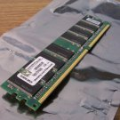 Kingston 512MB DDR 400Mhz PC3200 2.6V Desktop DIMM RAM (KVR400/512R) *USED*