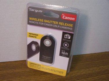 Targus Wireless Shutter Release Remote For Canon DSLR Cameras (TG-CA250) *NEW*