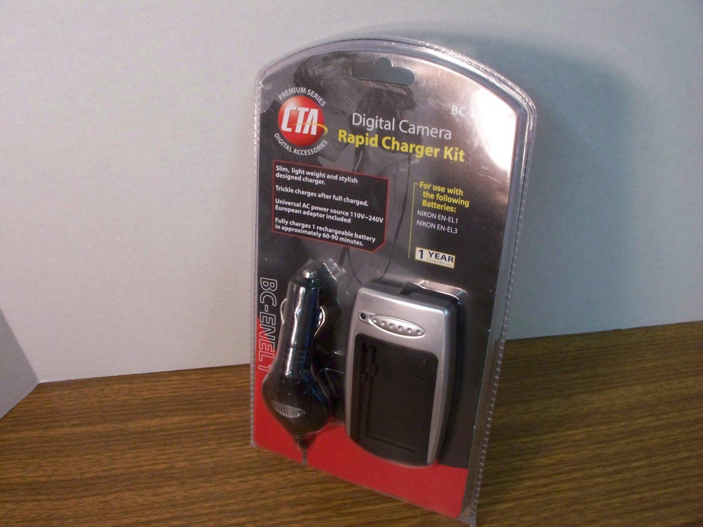 CTA Digital Camera Rapid Charger Kit (BC-ENEL1) *NEW*