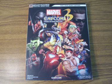 Marvel vs Capcom 3 Fate of Two Worlds Video Game Strategy Guide *NEW*