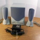 Kenwood Sound Retrieval System Computer Subwoofer w/2 Speakers *USED*