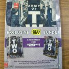 Army of Two Best Buy Exclusive Strategy Guide *NEW*