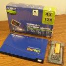 Linksys Wireless-N Notebook Cardbus Adapter (WPC300N) *NIB*