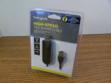 Targus High-Speed File Share Cable (ACC96US1) *NEW*