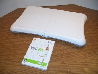 Official Nintendo Wii Balance Board (RVL-021) with Wii Fit Game *USED*