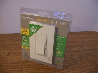 Lutron Eco-Dim Light Almond 3-Way Rocker Dimmer Switch (DVW-603PGH-LA) 120Volt 600W *NEW*