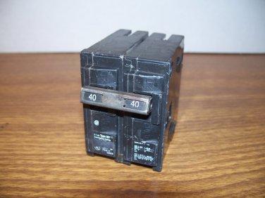 Murray MP Circuit Breaker (MP240) 40Amp 240Volt 2Pole 10kA *USED*