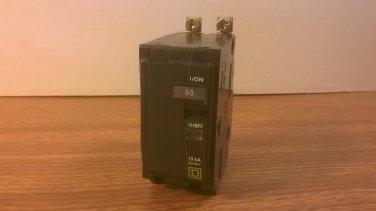 Square D Qob Circuit Breaker Qob250 50amp 240volt 2pole