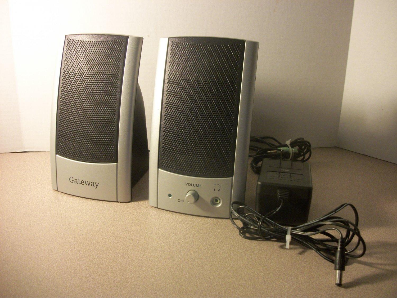 Gateway Edison2.0 by Diamond Audio PC Computer Speakers (7004408) *USED*