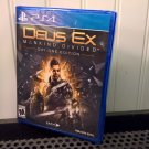 Square Enix Deus Ex Mankind Divided Day One Edition PS4 (DXMPS4US101) *NEW*