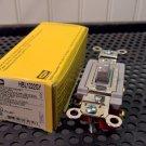 Hubbell Gray Toggle Switch (HBL1222GY) 20Amp 120/277Volt 2Pole *NIB*