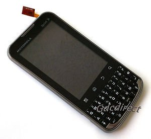 Original Motorola Xprt MB612 Complete LCD Touch Screen Digitizer Assembly Keypad