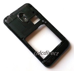 Used Sprint Samsung Galaxy S 2 II D710 Back Chassis Rear Housing w/ Camera Lens