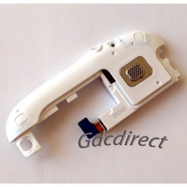 OEM White Samsung I9300 L710 Galaxy SIII S 3 Loud Rear Speaker Assembly