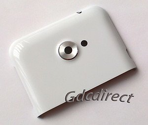Genuine OEM HTC Evo 4G LTE Top Rear Housing+Lens Cover Replacement White