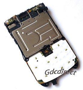 OEM Blackberry Tour 9630 Center Frame Chassis Keyboard Flex PCB Board+Camera