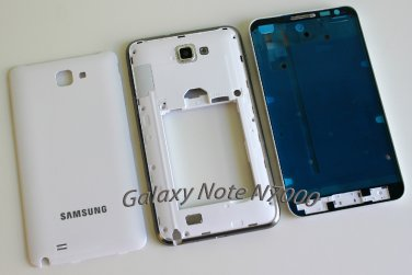 Complete Replacement Samsung Galaxy Note i9220 N7000 Full Housing Cover Frame Door White