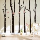 Trunk Wall Decal -Trunk Wall Vinyl-Trunk wall Vinyl Sticker-Tree wall docor