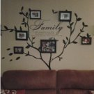 Family Vinyl Photo Tree and Family love quote Wall Decal