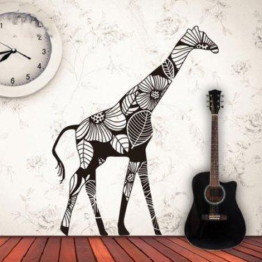 Giraffe Wall Decal Creative Giraffe Wall Vinyl