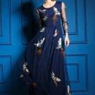 Phoenix embroidery Lady dress