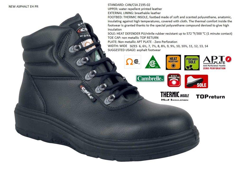 """Cofra New Asphalt 6"""" safety boot black"""