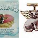 Pewter Guardian Angel of Cats/Cat Pin Wear in Memory of your special Pet