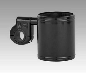 "Motorcycle Kruzer Kaddy Drink Cup Holder Fits most 7/8"",1"",& 1 1/4"" handlebars"