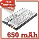 BATTERY ALCATEL 3DS10241AAAA 3DS10744AAAA 3DS11080AAAA FOR OT-S853 OT-S856 OT-S860 Tchibo 204 VLE5