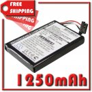 BATTERY NAVMAN 541380530005 541380530006 BL-LP1230/11-D00001U FOR Pin, Praktiker LooxMedia 6500