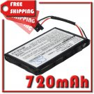 BATTERY MAGELLAN 338937010158 BP-LP720/11-A1B FOR RoadMate 3045 RoadMate 3045-LM RoadMate 3045-MU