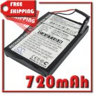 BATTERY MAGELLAN 338937010172 FOR RoadMate 1300 RoadMate 1340