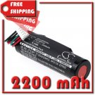 BATTERY LOGITECH 533-000122, T11715170SWU FOR UE ROLL 2, UE Roll Ears Boom, WS600, WS600BL, WS600VI