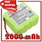 BATTERY VISONIC 0-9912-L, GP130AAM8YMX, GP180AAM8YMX, GP220AAH8YMX FOR 0-100459, 0-100498, 0-100535