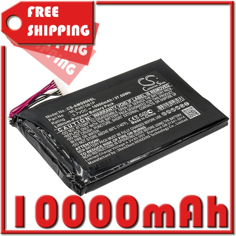 BATTERY AUTEL MLP4670B1P FOR Maxisys MS906BT, Maxisys MS906TS