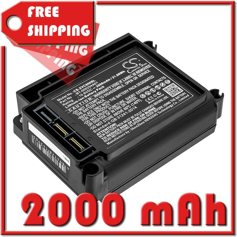 BATTERY ZEBRA BT-000254A01, KT-VC80-BTRY1-01 FOR VC80