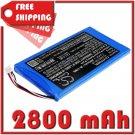 BATTERY XTOOL PL6065100-2S FOR EZ300 Pro, EZ400 Pro, i80 Pad