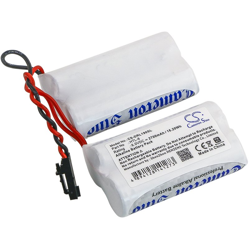 BATTERY SAFLOCK 6800-12-1, HTL-6 FOR 6800121, S90040, Select 6