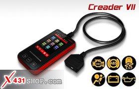 Launch Distributor X431 Creader VII Diagnostic Full System Code Reader