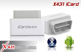 LAUNCH X431 iCard OBDII/EOBD Support Android Phone Free Shipping