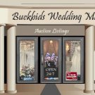 Web Site or Auction Template Wedding Mall Navigational Header Logo & Custom Links