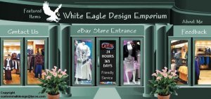 Website Web Site Auction Template Womens Clothing Mall Header Logo Your Links